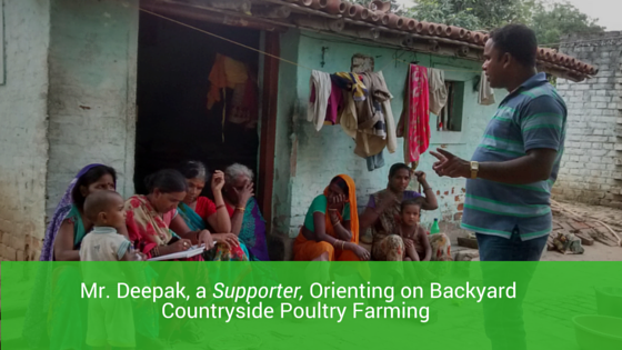 Centre for Livestock Member Orienting on  Countryside Poultry Businesss